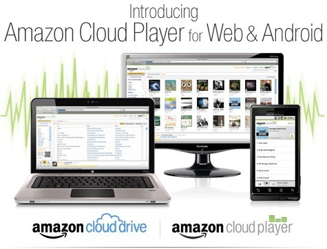 Amazon lancia Cloud Music Player & Storage per il Web e Android