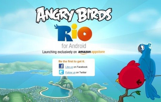 Angry Birds Rio in esclusiva sull'Amazon App Store (video)