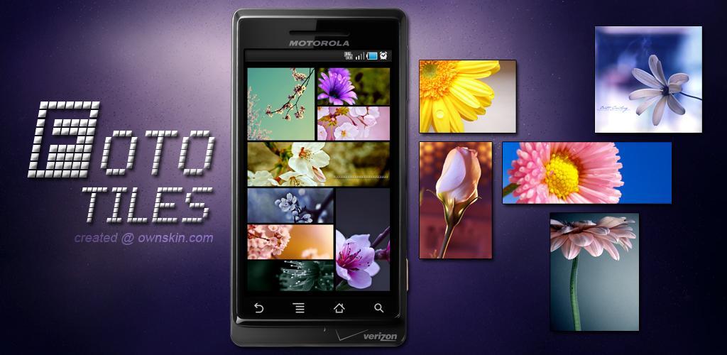 Foto Tiles Live Wallpaper, crea il tuo slideshow di immagini!