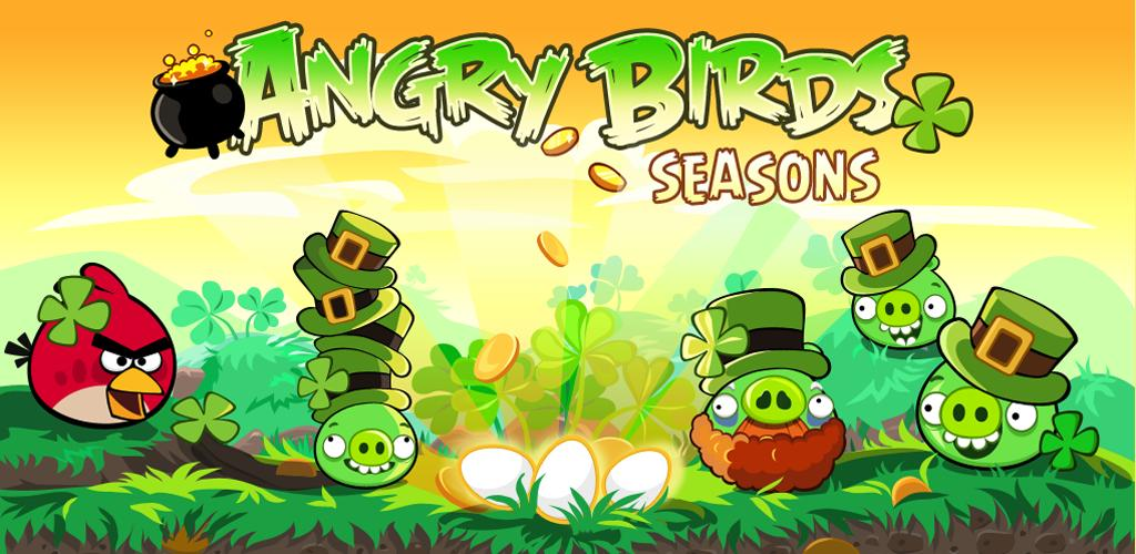 Angry Birds Seasons San Patrizio disponibile nel Market