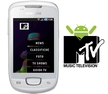 Samsung lancia in esclusiva l'applicazione MTV per Android