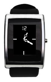 inPulse: l'orologio che, se programmato, può anche indicare l'ora.