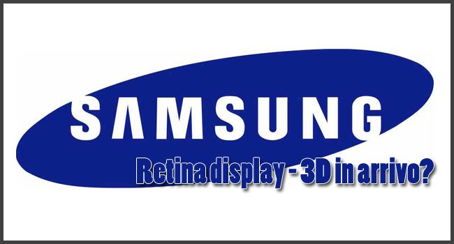 Samsung sulla via del Retina Display