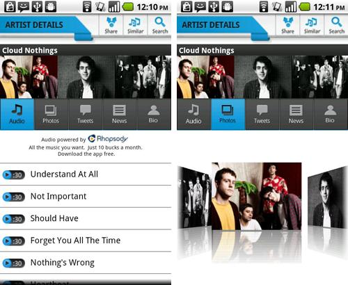 MTV Music Meter, scoprire i nuovi talenti con Android