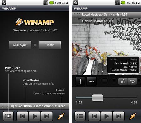 Winamp si aggiorna alla versione 1.0