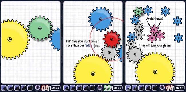 Geared, un puzzle game per farvi spremere le meningi