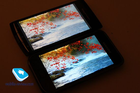 Galaxy S II: confronto display e fotocamera con Galaxy S e Xperia Arc