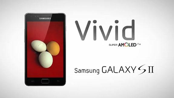 Samsung Galaxy S II: nuovo spot che esalta il display