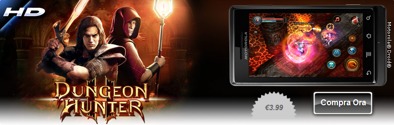 Dungeon Hunter 2 HD disponibile per Android
