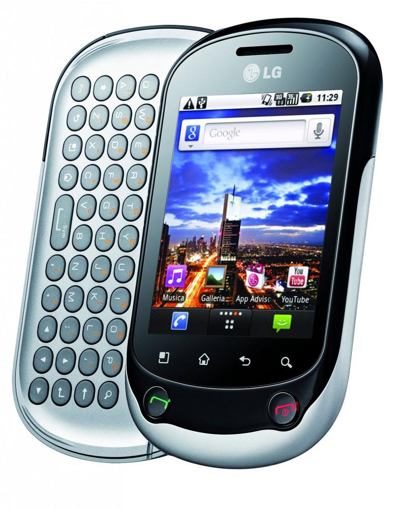 LG Optimus Chat - lo smartphone Android per i giovani