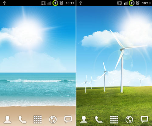 Disponibili al download i Live Wallpaper del Samsung Galaxy SII