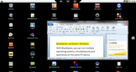 Presto Android su Windows