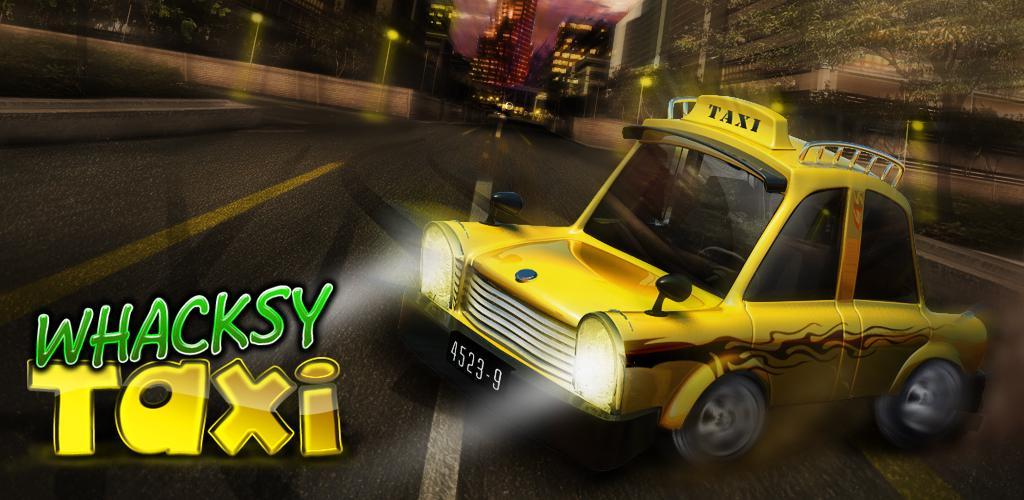 Whacksy Taxi: un Outrun con i taxi, su Android