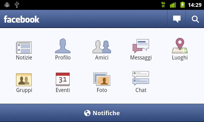 Facebook per Android 1.5.3 - Fra crash continui ed imbarazzi