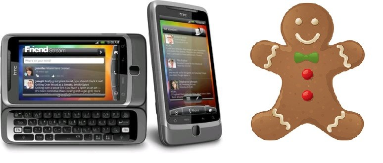 HTC Desire Z - Presto l'aggiornamento a Gingerbread