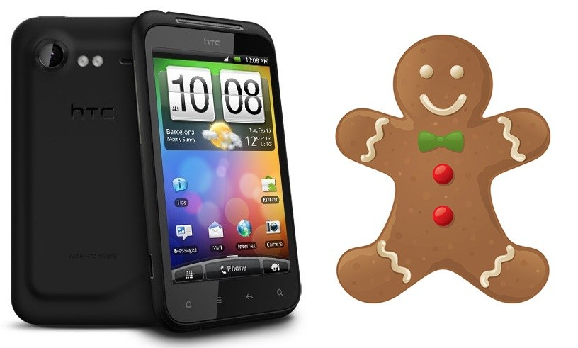 Aggiornamento a Gingerbread per HTC Incredible S [Aggiornato con video]
