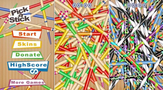 Pick a stick lo shangai arriva su android for Gioco dello shanghai