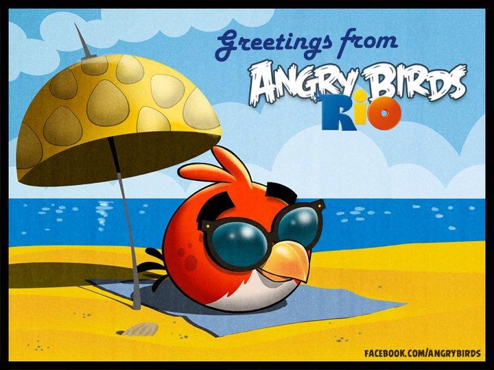 Angry Birds Rio: primo aggiornamento in arrivo a breve