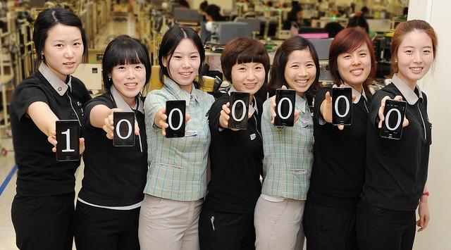 Samsung Galaxy S II: 1 milione di vendite in un mese in Corea del Sud