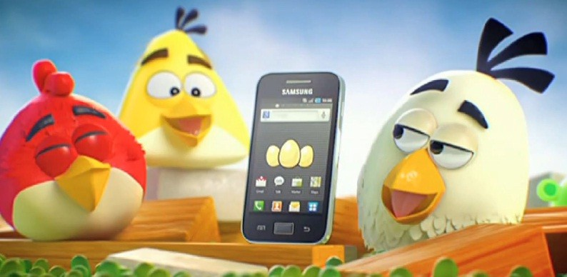 Angry Birds insieme a Samsung per lo spot di Galaxy Ace (video)