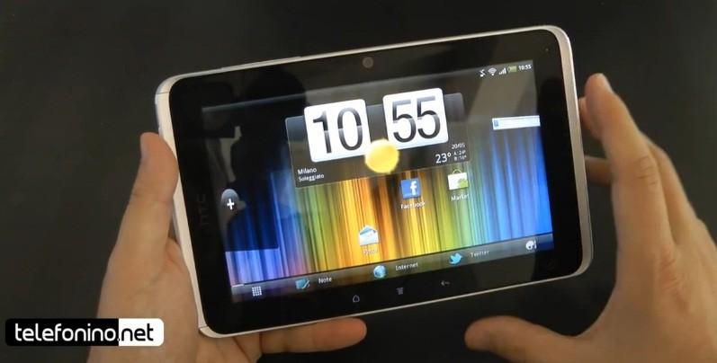 HTC Flyer, la videoreview di Telefonino.net