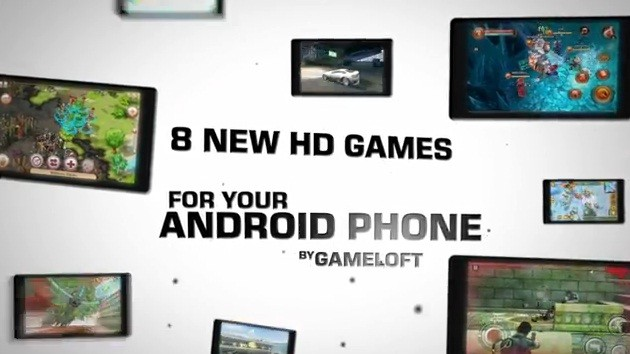 Gameloft: 8 nuovi giochi HD per Android, in video