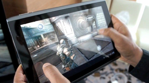 Shadowgun per tablet Nvidia Tegra 2, in video