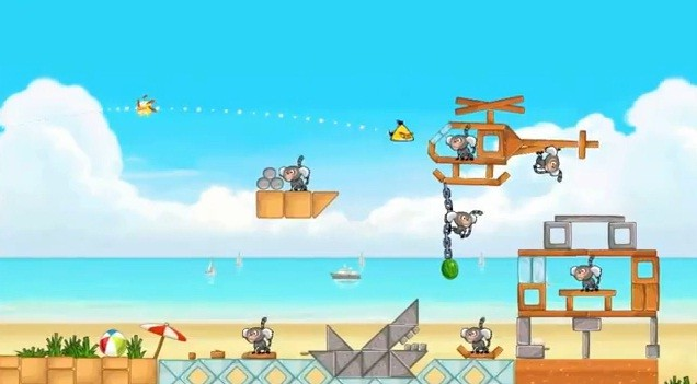 "Angry Birds Rio, in video il prossimo episodio: ""Beach Volley"""