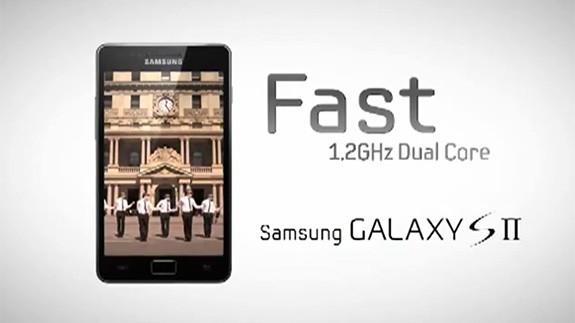 Samsung Galaxy S II: nuovo spot per il processore dual core