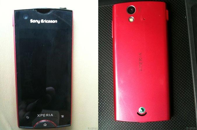 Sony Ericsson ST18i, in foto il nuovo smartphone Xperia