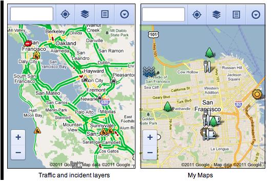 Google Maps si aggiorna da browser mobile
