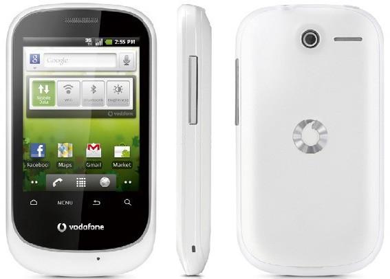 Vodafone annuncia Smart, un terminale Android da 90€