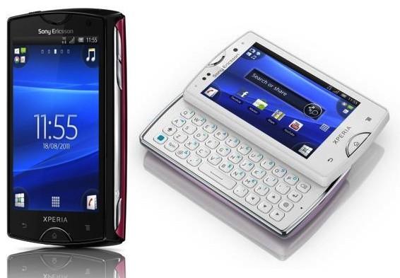 Sony Ericsson annuncia i nuovi Xperia Mini e Xperia Mini Pro