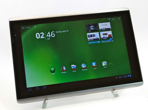 Acer: nuovo tablet Honeycomb con Intel Oak Trail, a Luglio