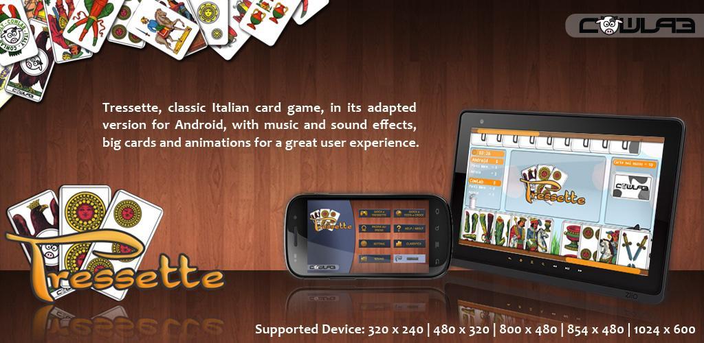 Tressette, il classico gioco di carte italiano per Android