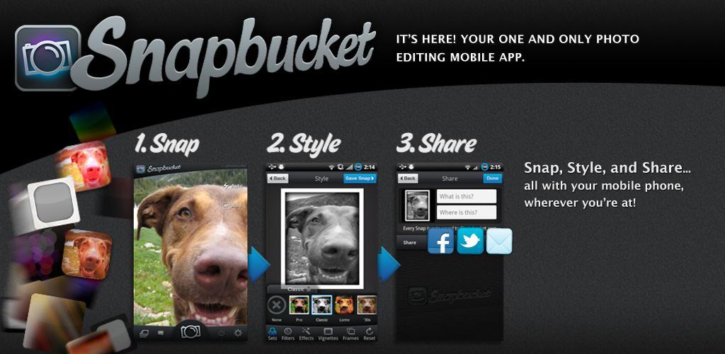 Snapbucket: Snap, Style, and Share!