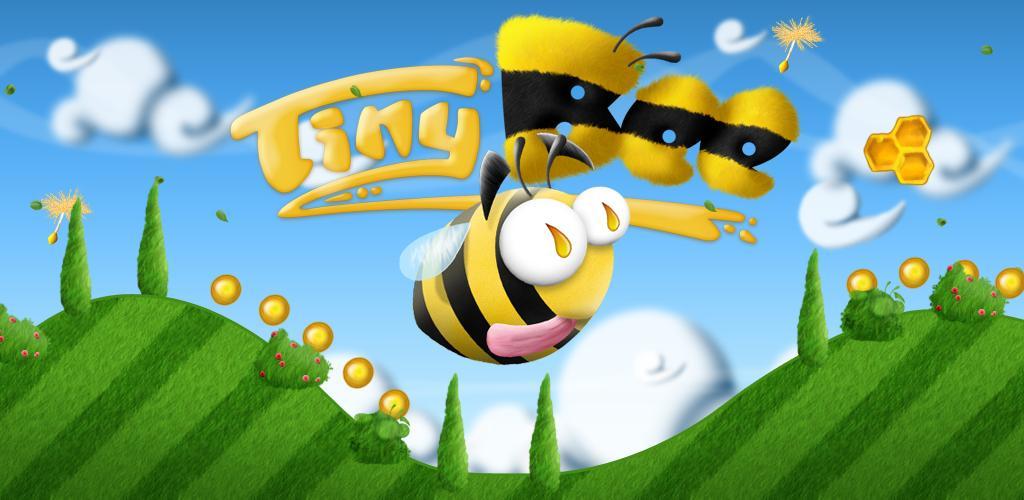 Tiny Bee: aiuta l'ape ad accumulare più miele e polline possibile