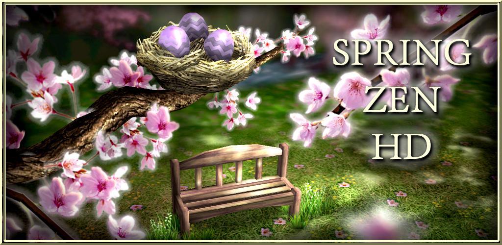 Spring Zen: un rilassante sfondo animato per Android