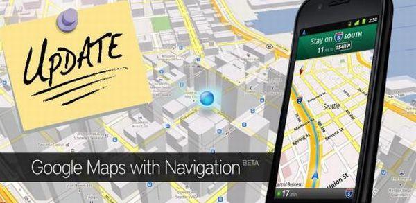 Google Maps si aggiorna alla versione 5.4.0