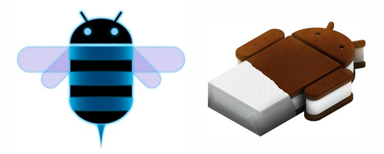 Google I/O - Annunciati Ice Cream Sandwich e Honeycomb 3.1