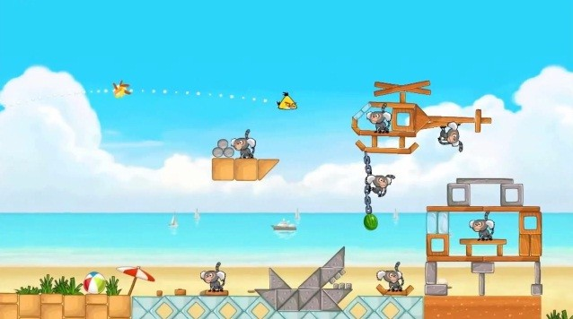 Angry Birds Rio: disponibile l'aggiornamento, su Amazon AppStore