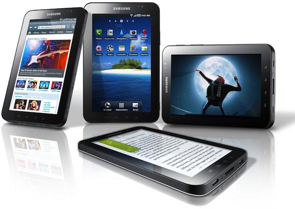 Samsung Galaxy Tab 7 riceve Gingerbread 2.3.3!