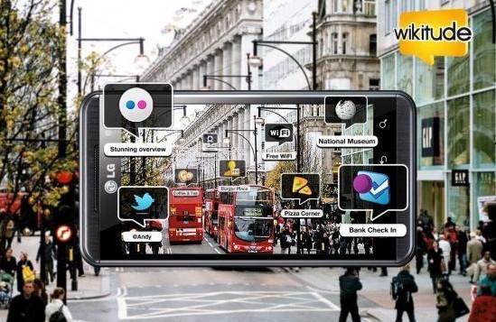 LG e Wikitude insieme per il primo browser AR in 3D