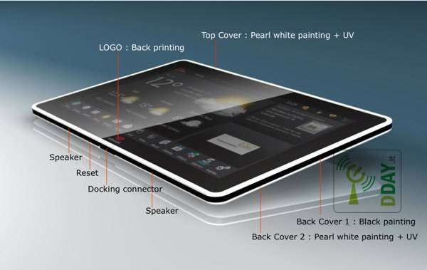 OliPad 2, il nuovo tablet Honeycomb di Olivetti