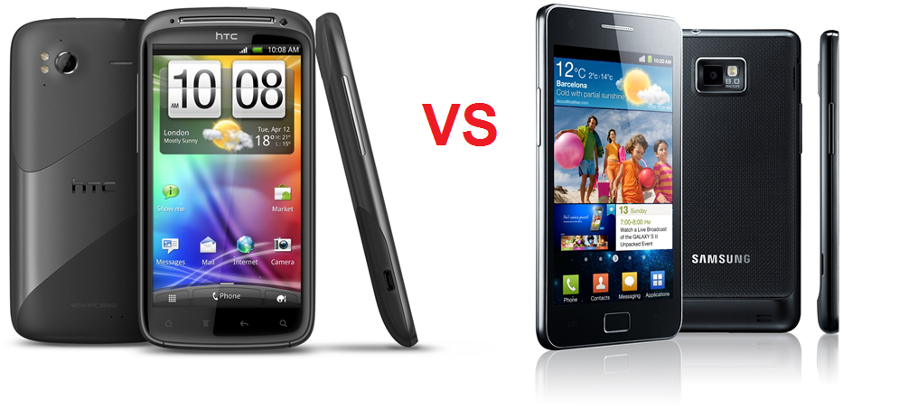 HTC Sensation Vs Samsung Galaxy S II - Cosa acquistare?