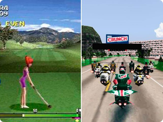 Due nuovi classici PSOne su Android: Everybody's Golf 2 e Jet Rider