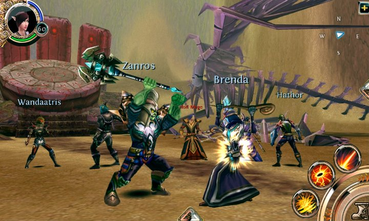 Order & Chaos Online rilasciato in Android Market