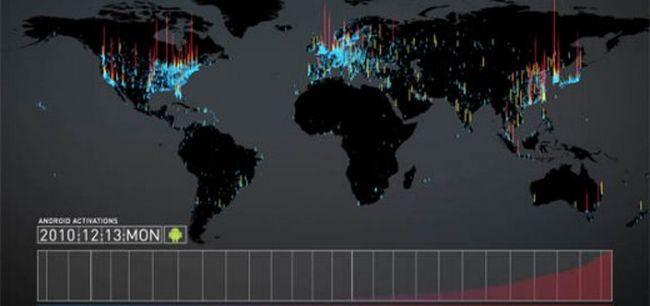 Andy Rubin: oltre 500.000 dispositivi Android attivati ogni giorno