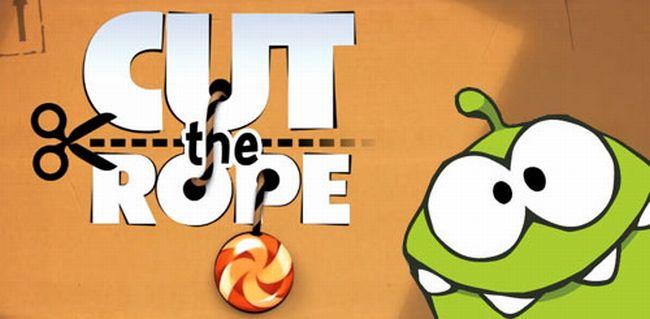 Cut the Rope rilasciato ufficialmente per Android, su GetJar