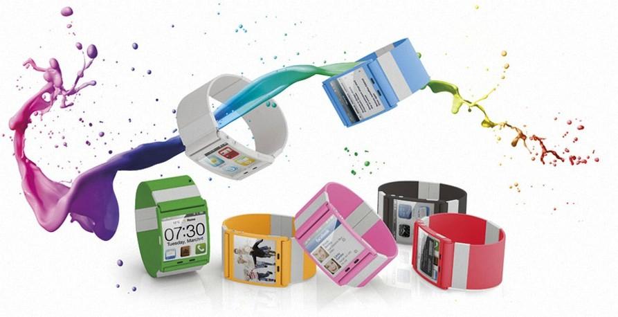 i'mColor, l'orologio da polso touchscreen con Android